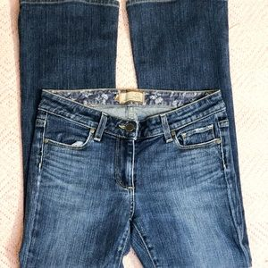 Paige Hollywood hills mid-rise bootcut jeans S-27